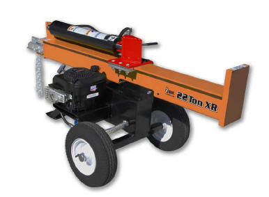 Brave XR1222 22 ton log splitter via 800-sellcom