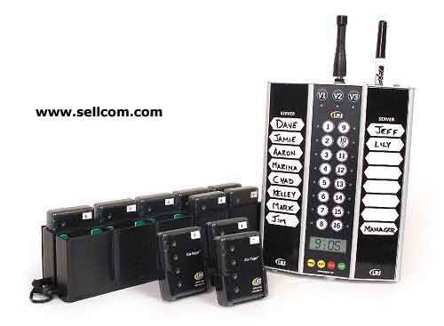 Private and business pagers from Long Range Systems LRS paging